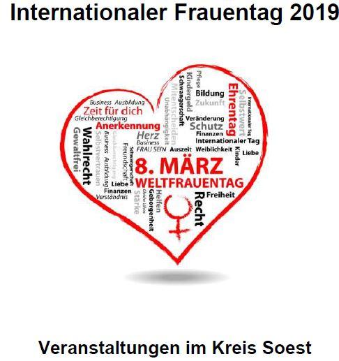 Veranstaltungen Zum Internationalen Frauentag Am 8 März 2019